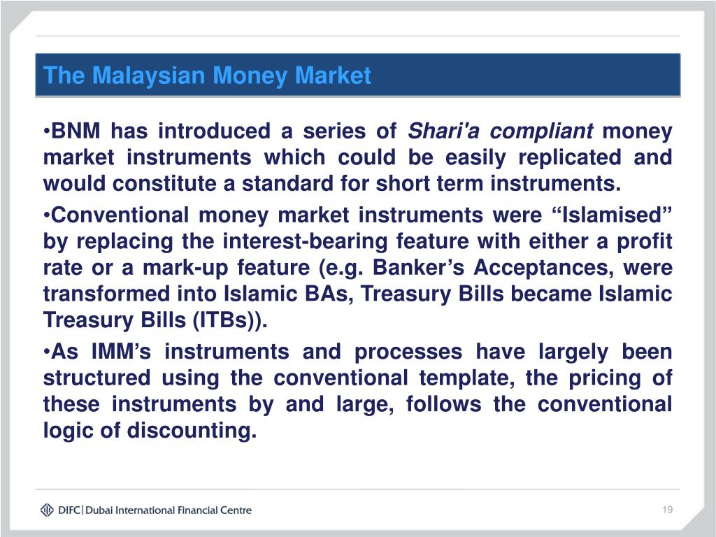 The Malaysian Money Market