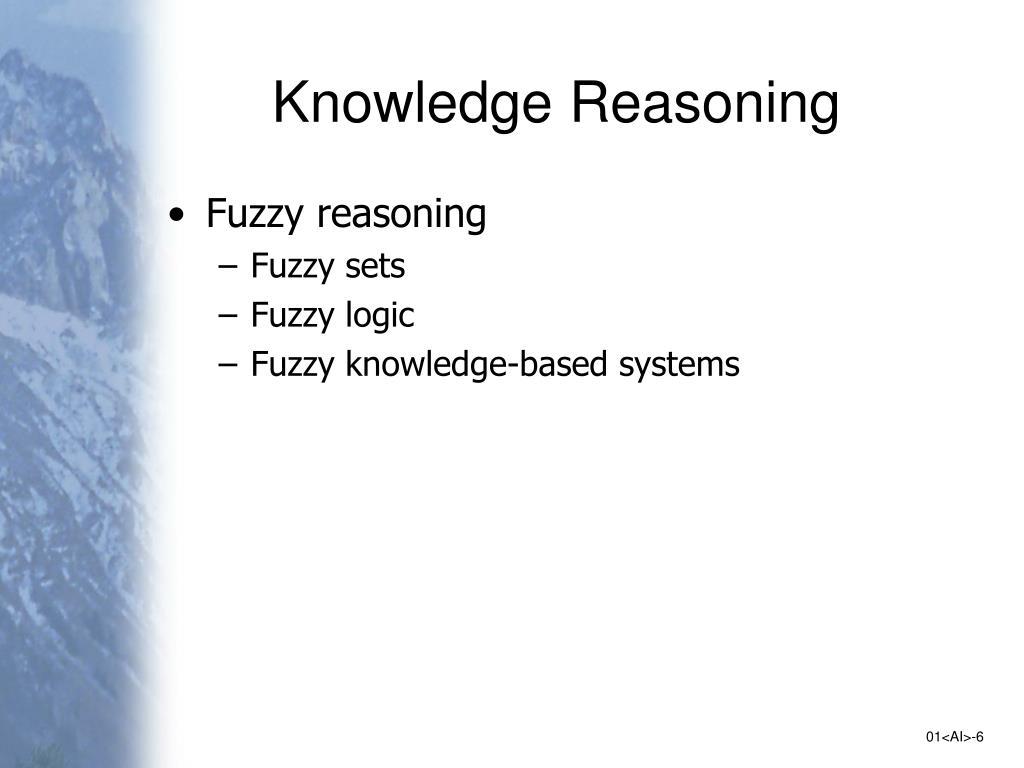 Knowledge Reasoning