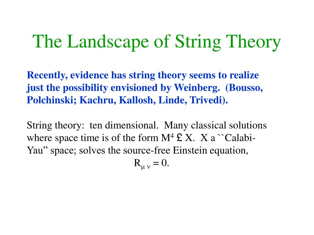 The Landscape of String Theory