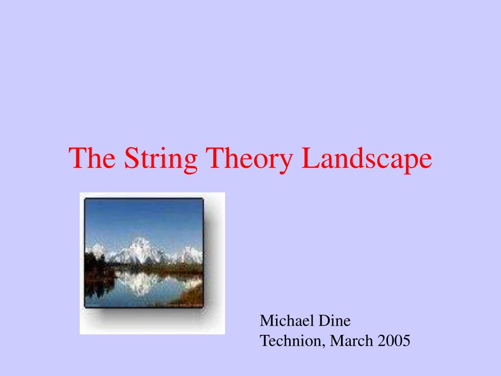 The String Theory Landscape