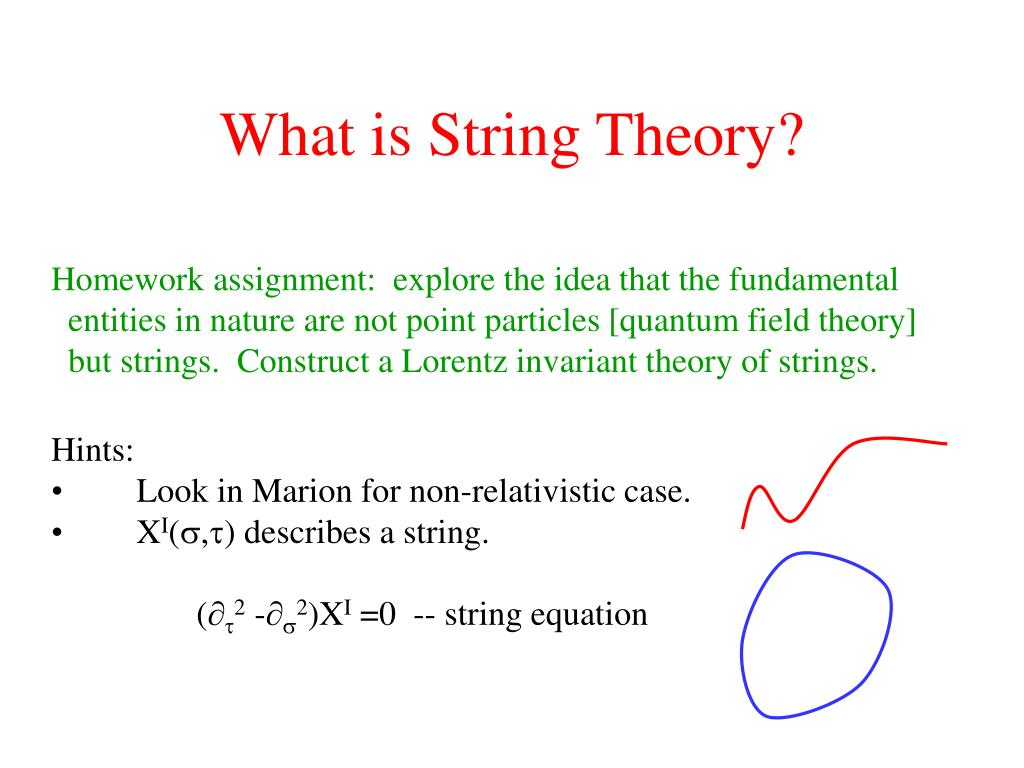 What is String Theory?