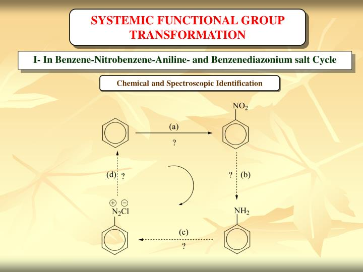 SYSTEMIC FUNCTIONAL GROUP TRANSFORMATION