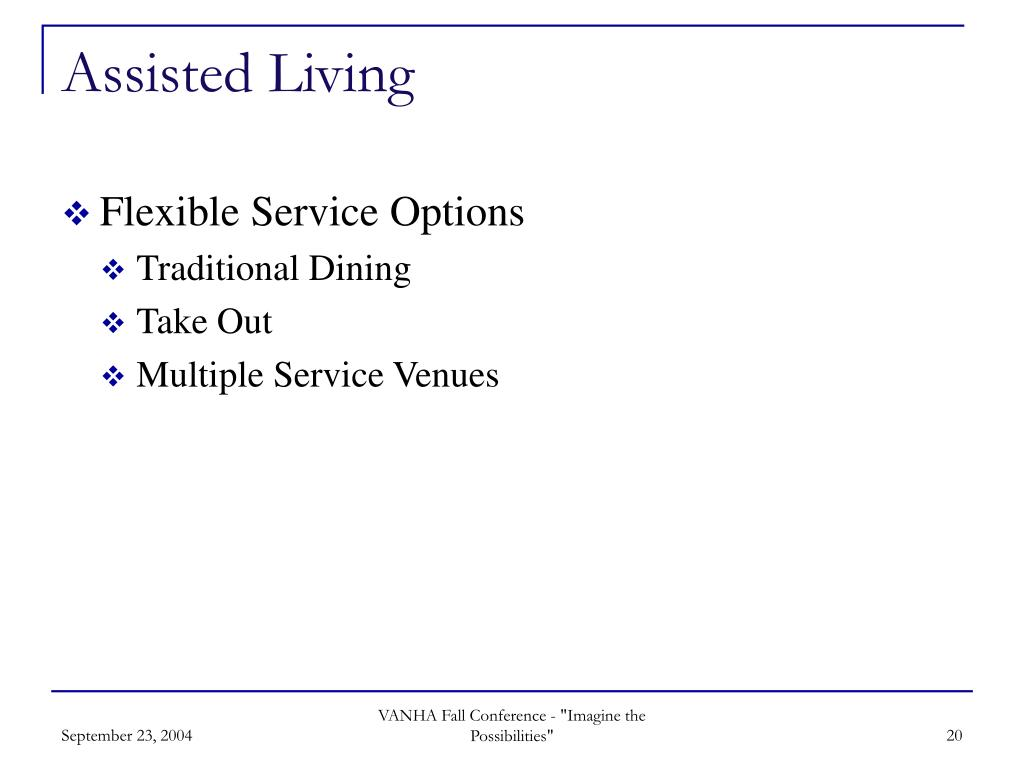 Assisted Living