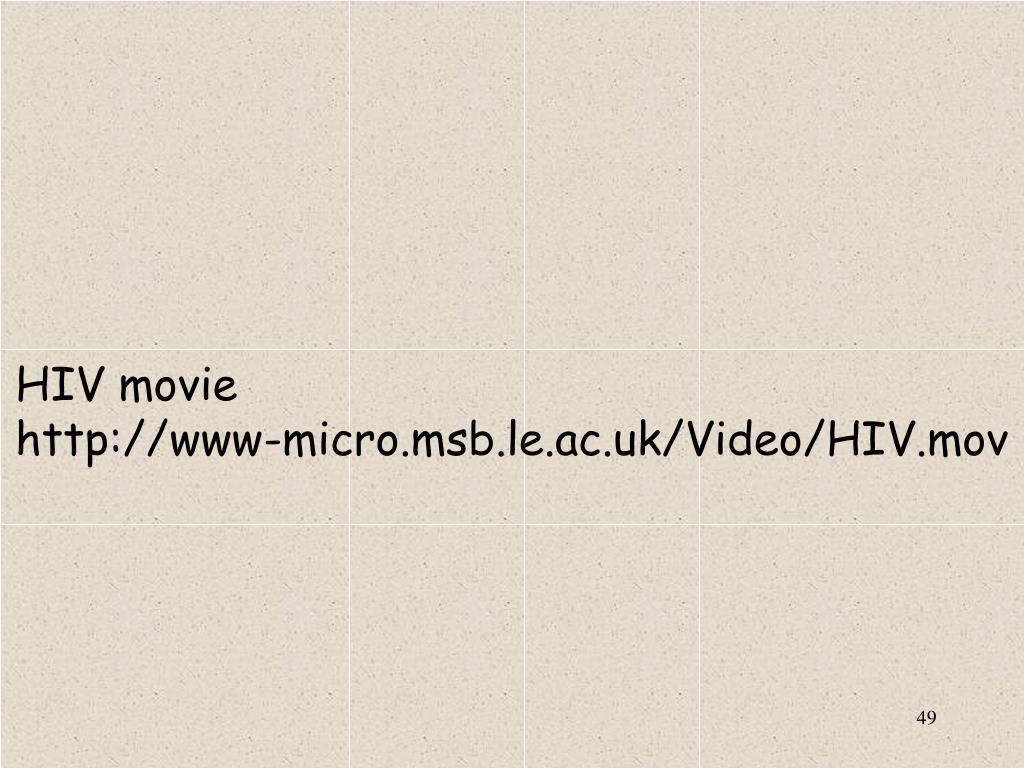 HIV movie