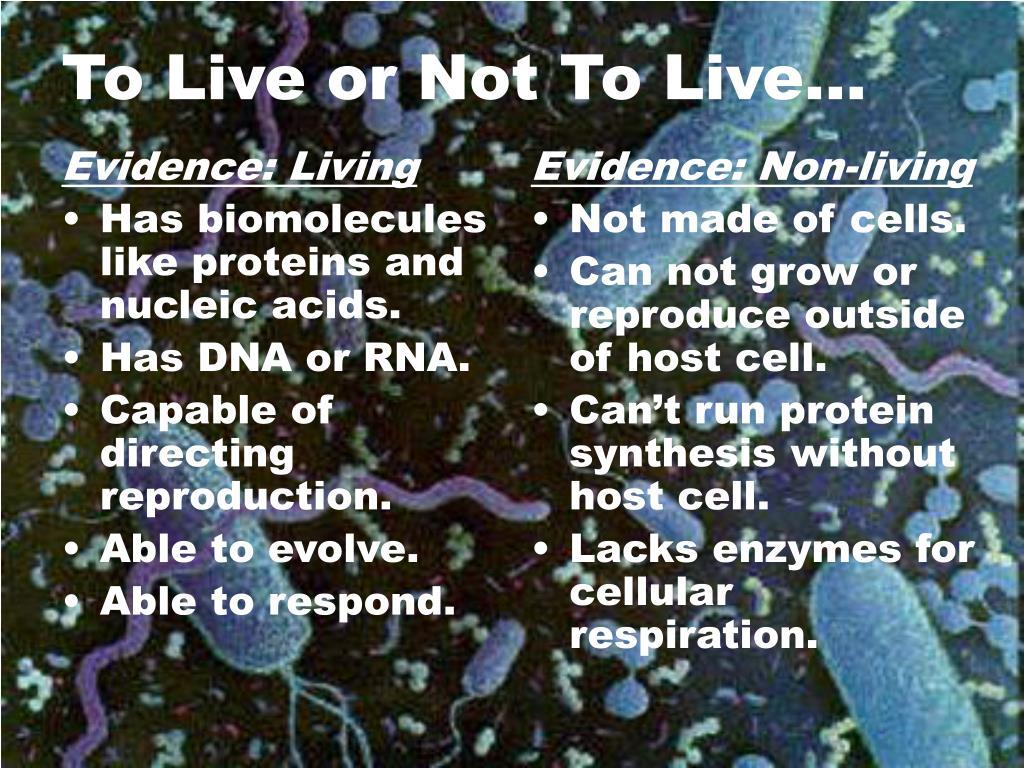 Evidence: Living