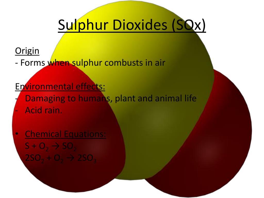 Sulphur Dioxides (