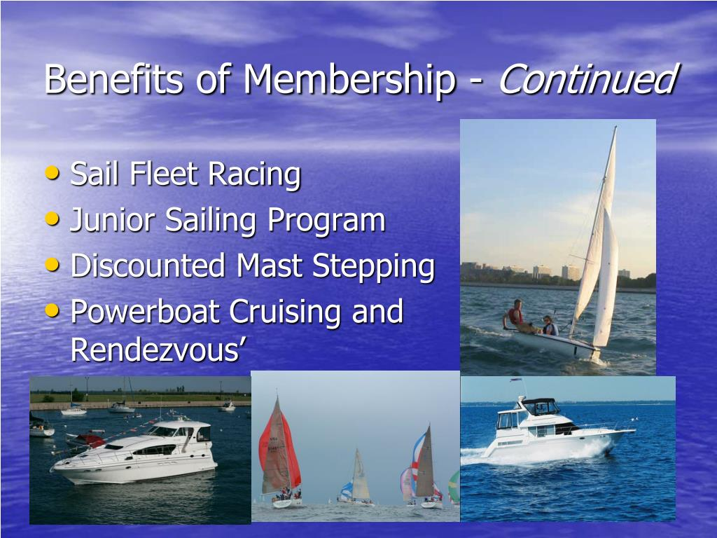 Benefits of Membership -