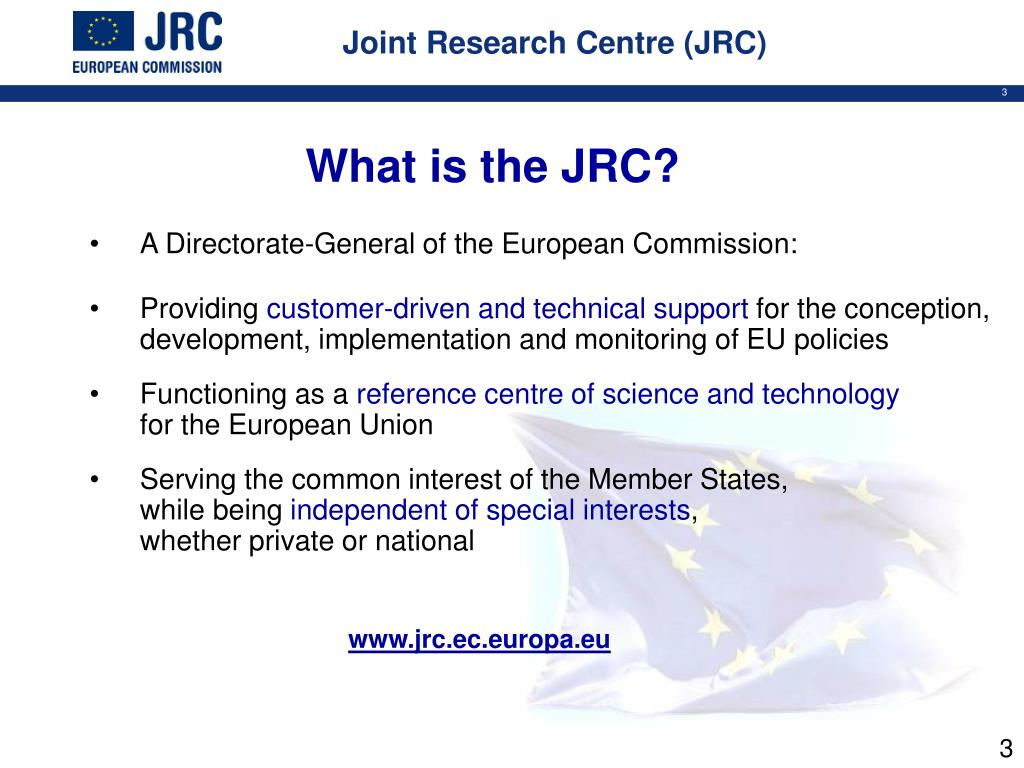 Joint Research Centre (JRC)
