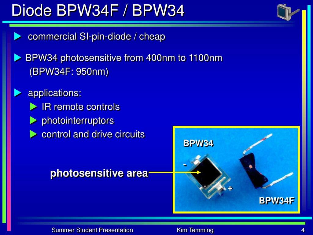 Diode BPW34F / BPW34