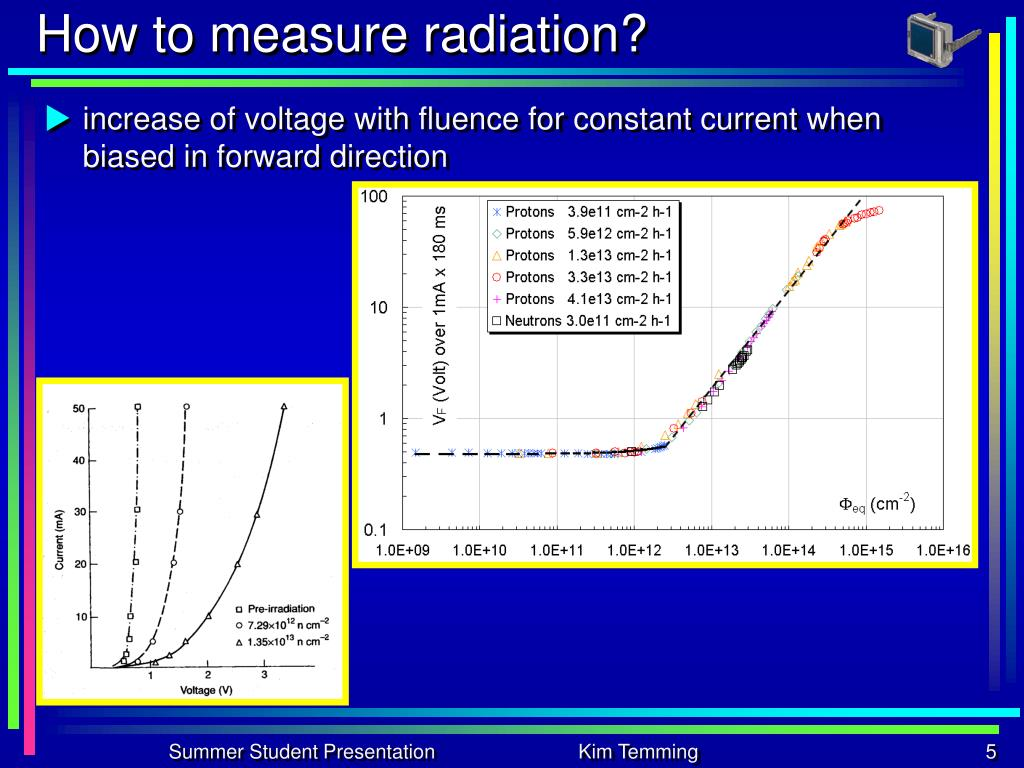 How to measure radiation?
