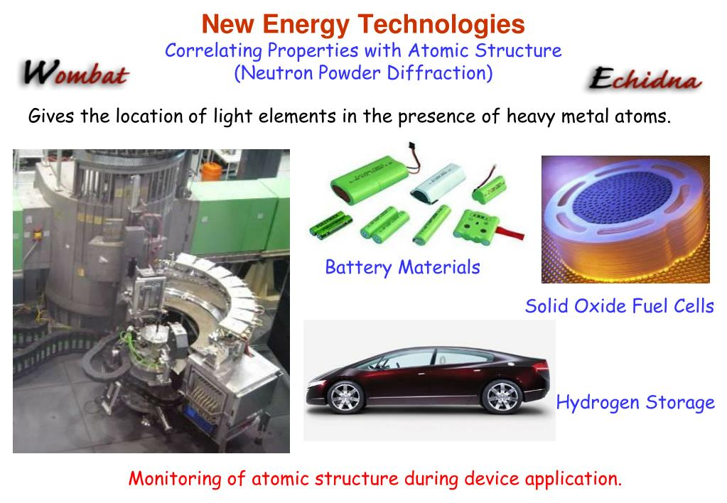 New Energy Technologies