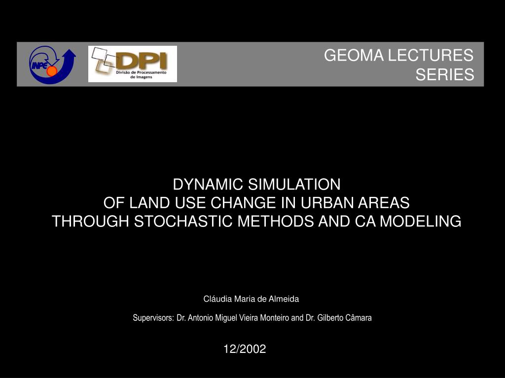 GEOMA LECTURES
