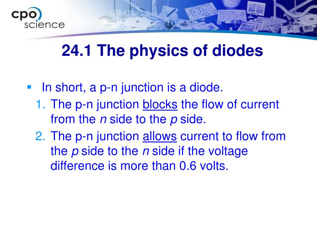 In short, a p-n junction is a diode.