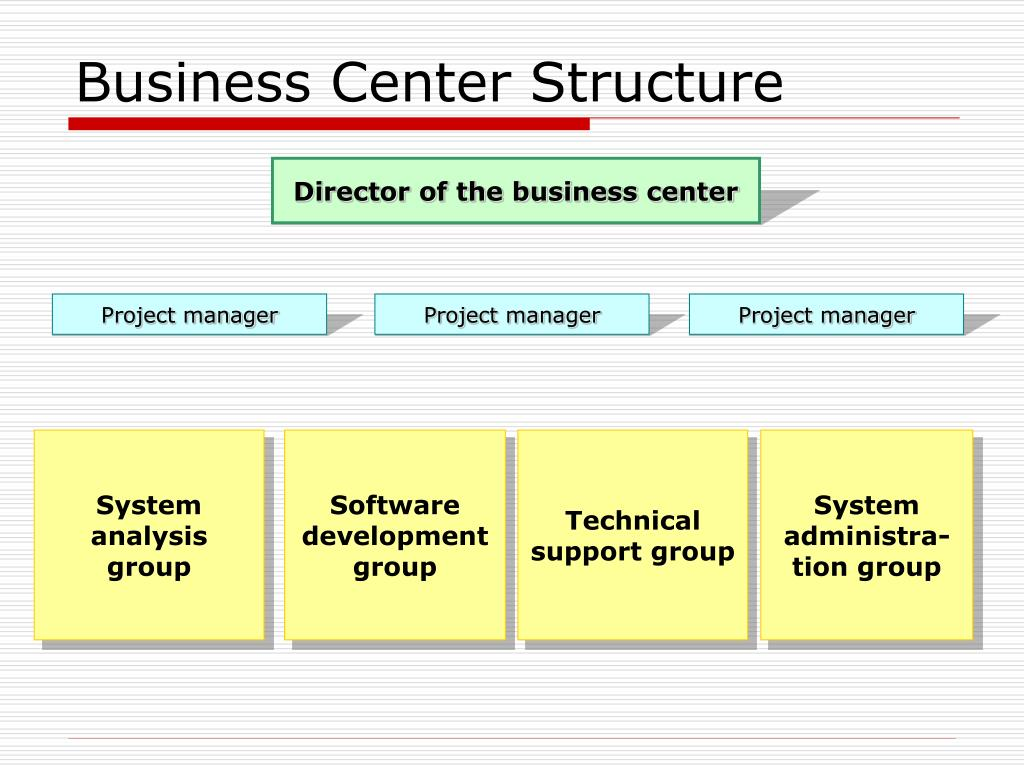 Business Center Structure