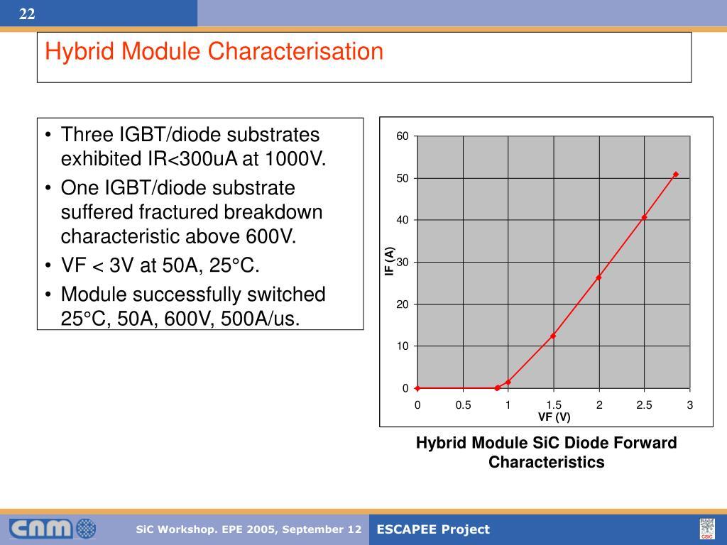 Hybrid Module Characterisation
