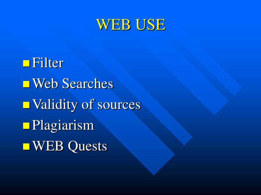 WEB USE