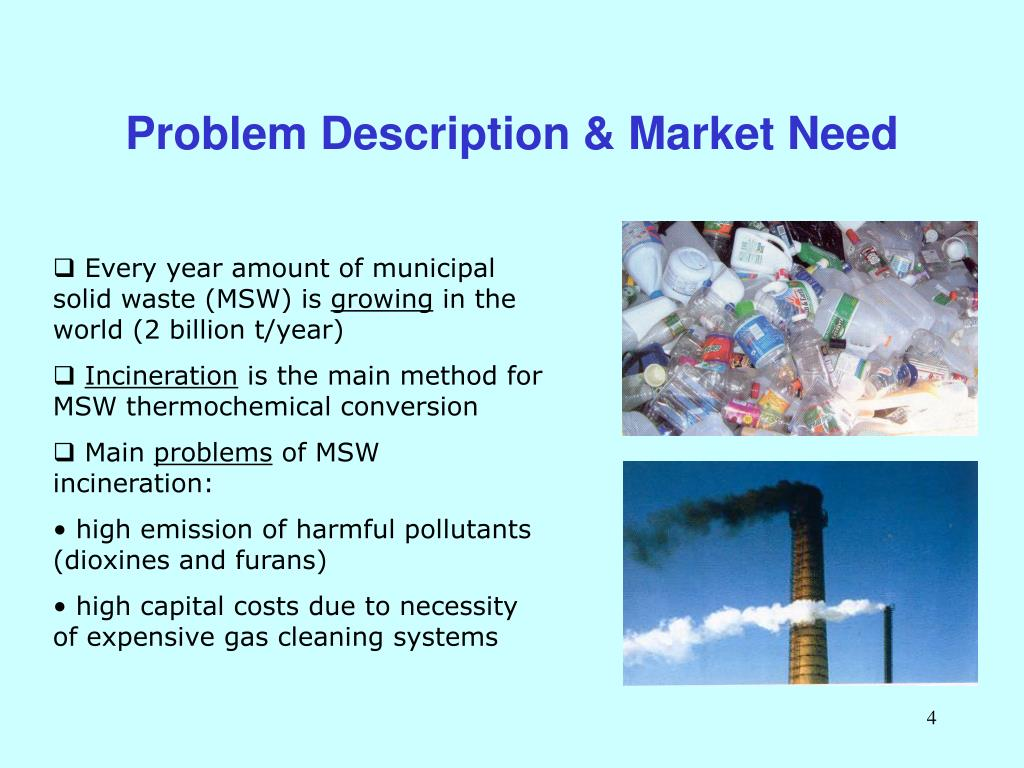 Problem Description & Market Need