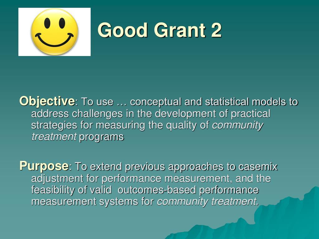 Good Grant 2