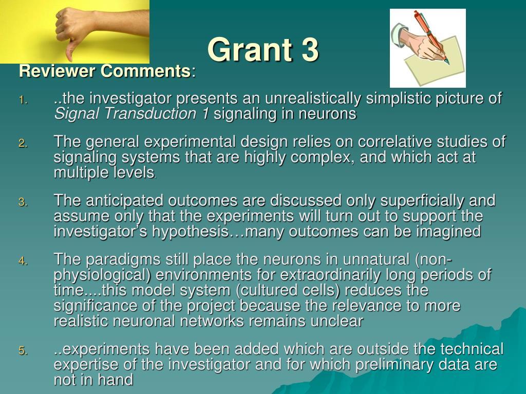 Grant 3