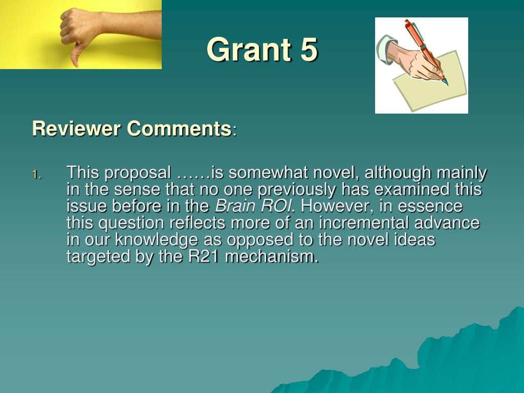 Grant 5