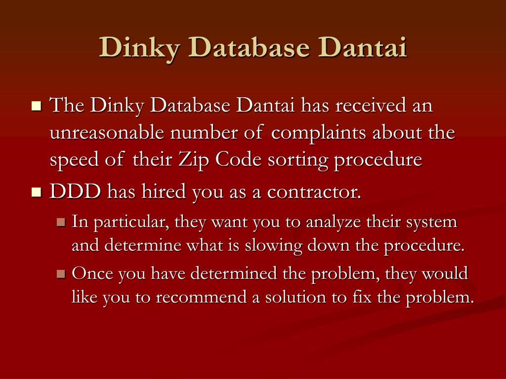 Dinky Database Dantai