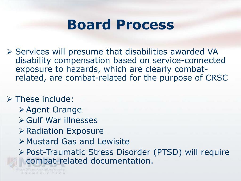 Board Process