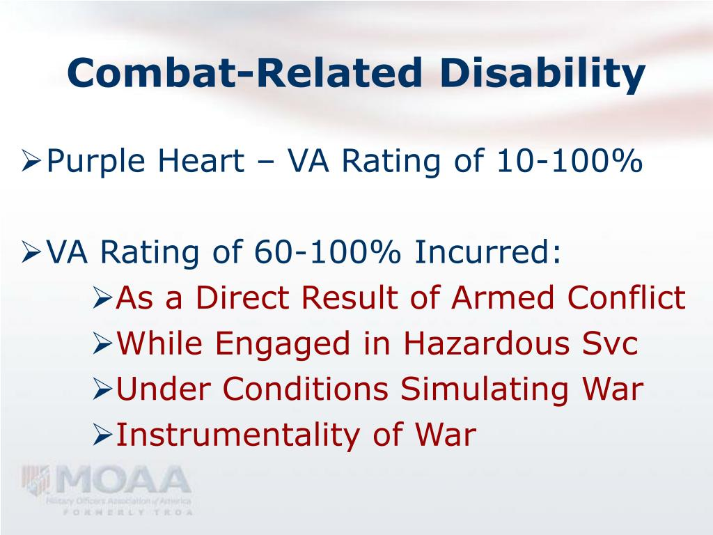 Combat-Related Disability