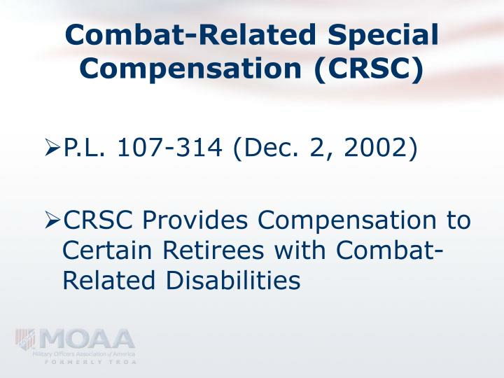 Combat related special compensation crsc3