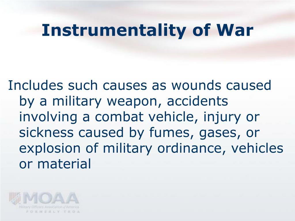 Instrumentality of War
