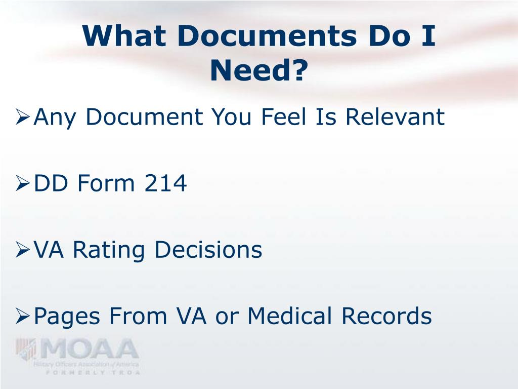 What Documents Do I Need?