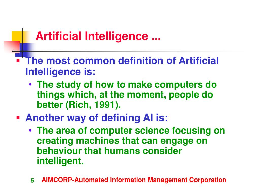 how to create artificial intelligence