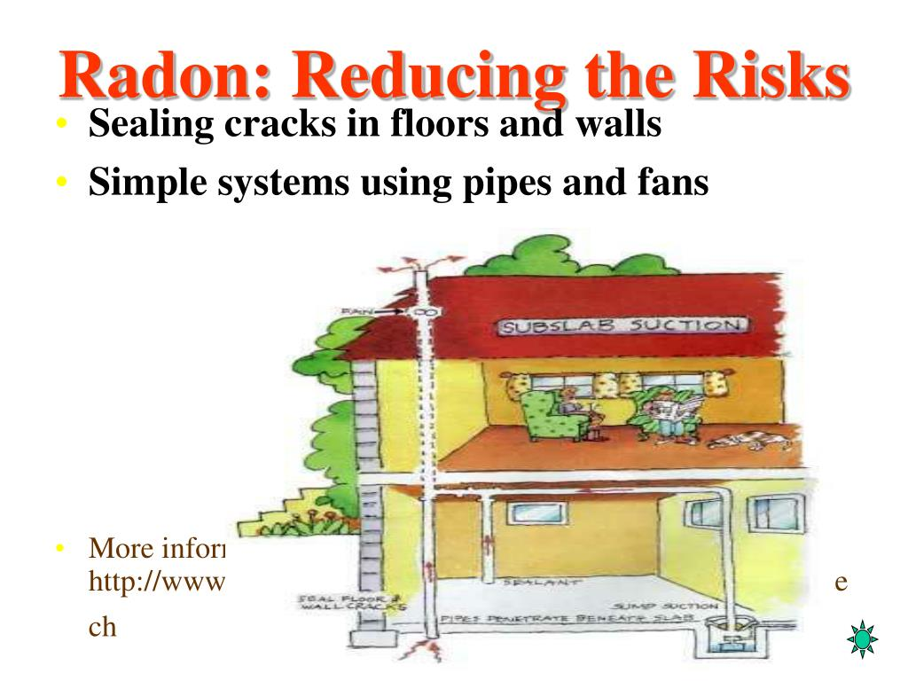 Radon: Reducing the Risks