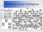 modeling human intelligence14