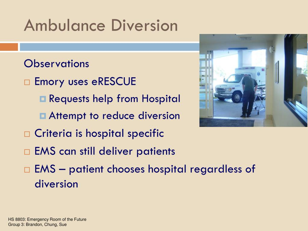 Ambulance Diversion