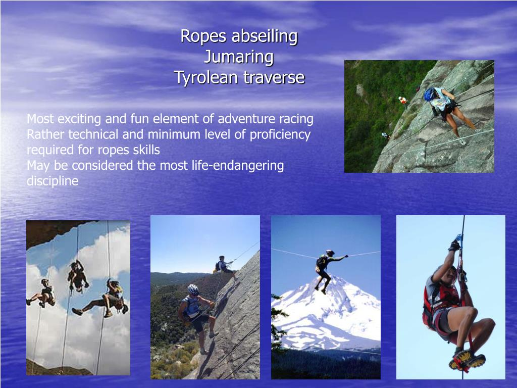Ropes abseiling