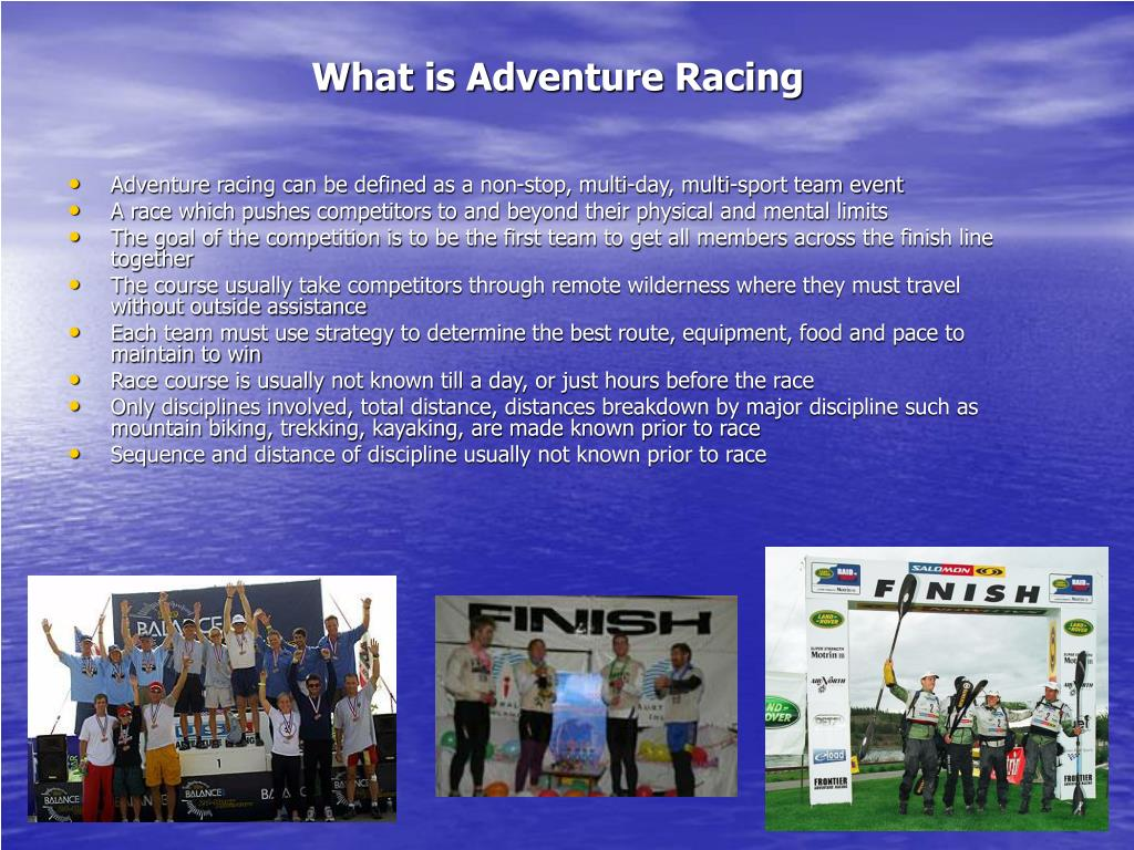 What is Adventure Racing