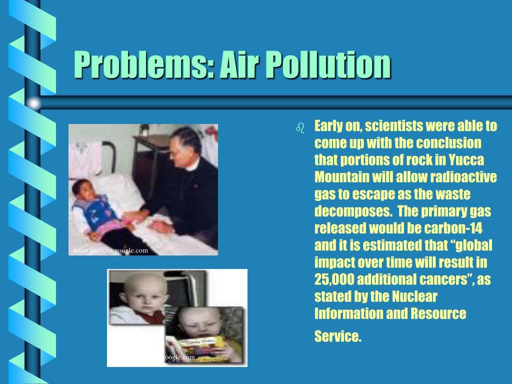 Problems: Air Pollution