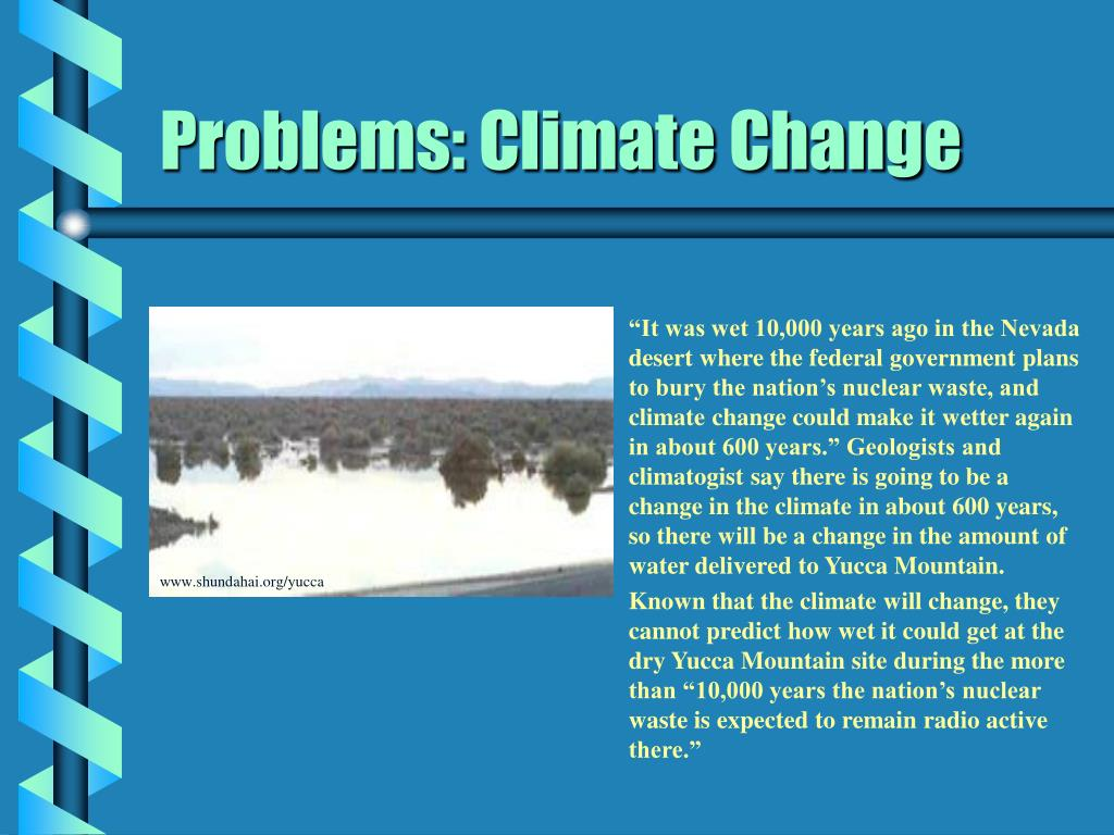 Problems: Climate Change
