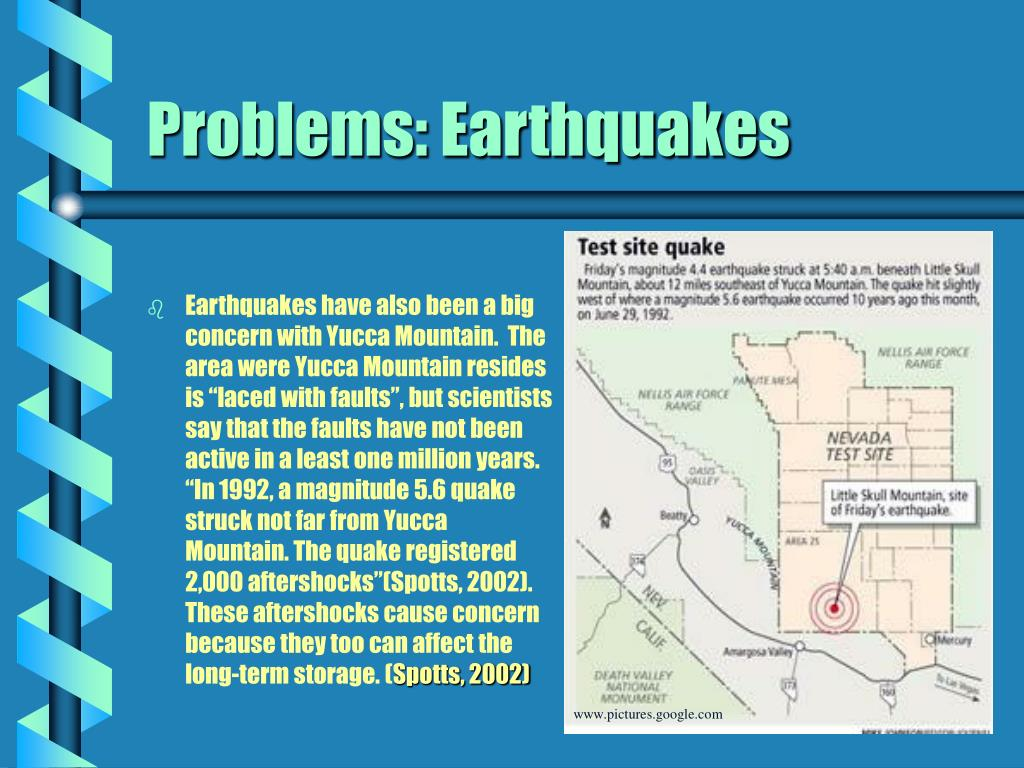 Problems: Earthquakes
