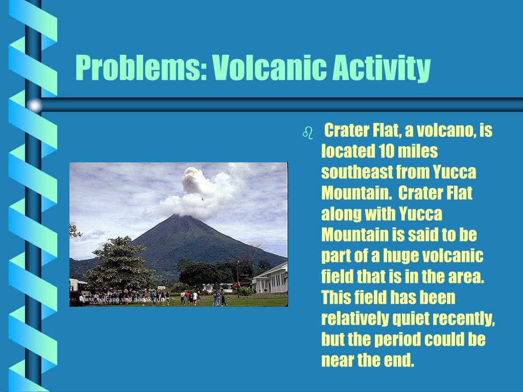 Problems: Volcanic Activity