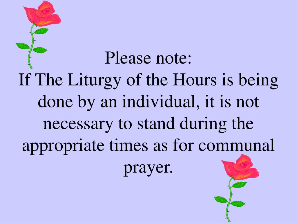 Please note: