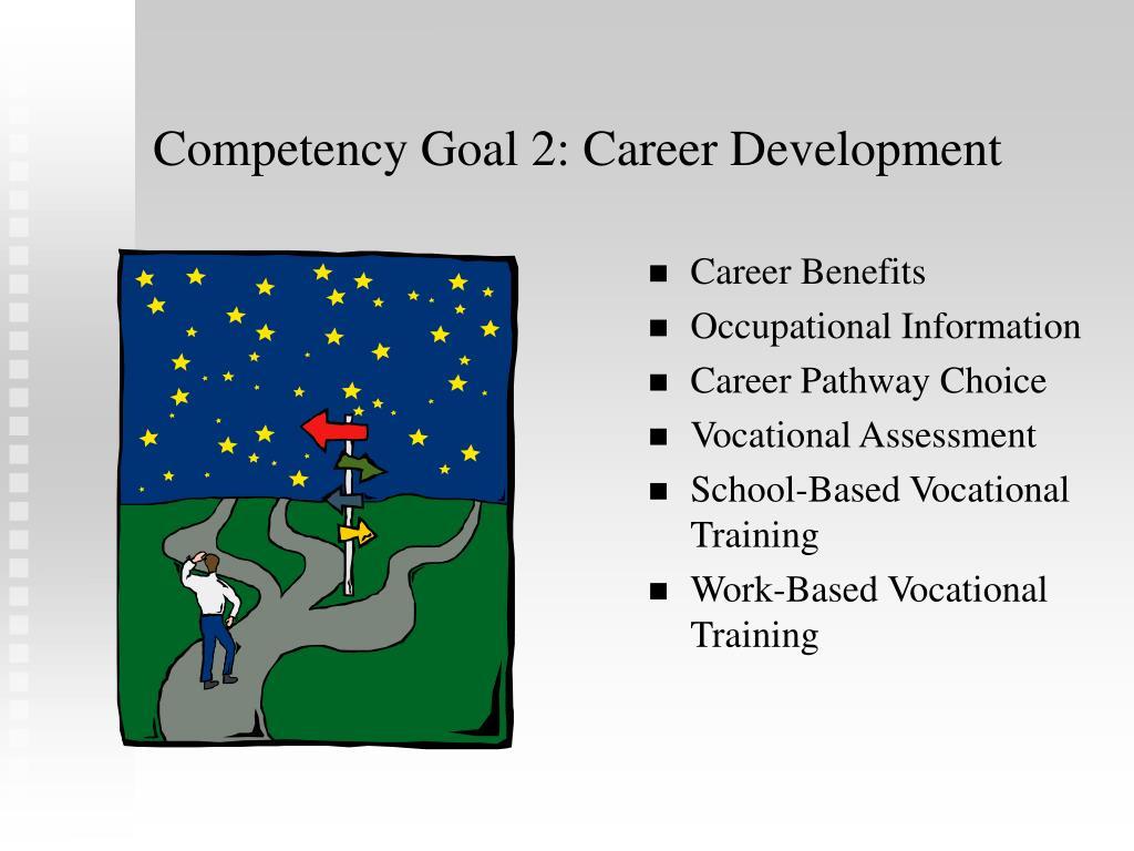 Competency Goal 2: Career Development