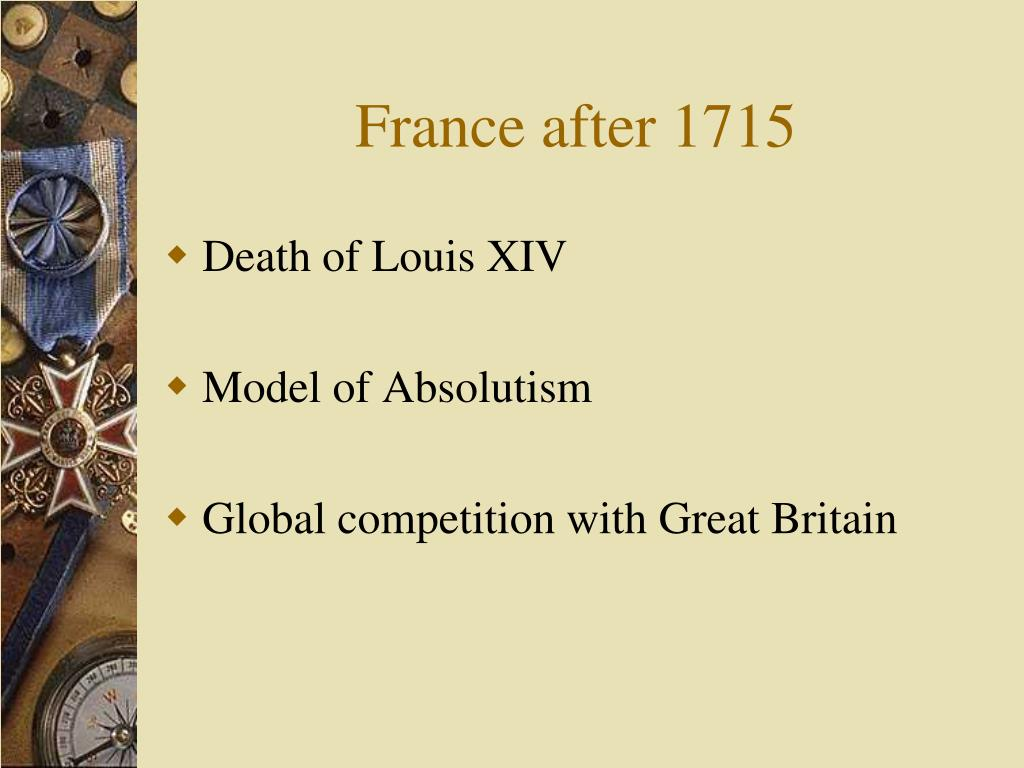Balance of power in europe in the 18th century