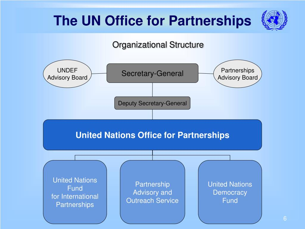 The UN Office for Partnerships