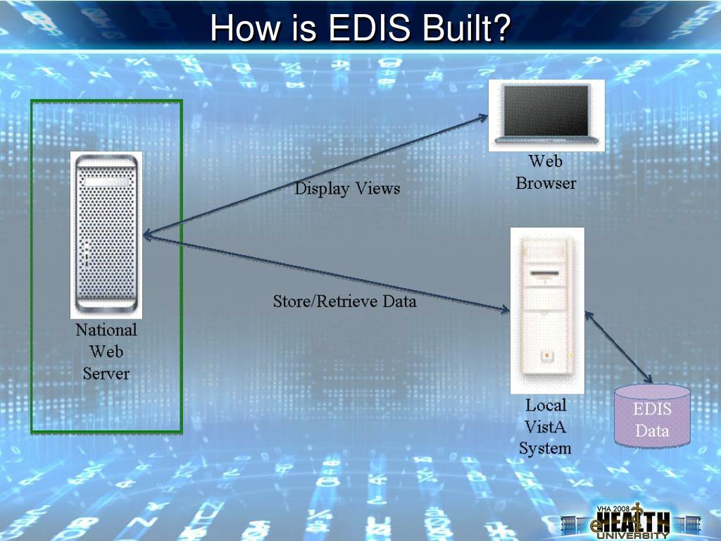 How is EDIS Built?