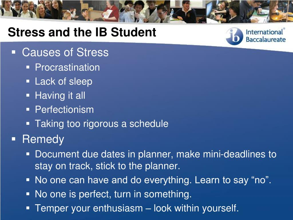 Stress and the IB Student