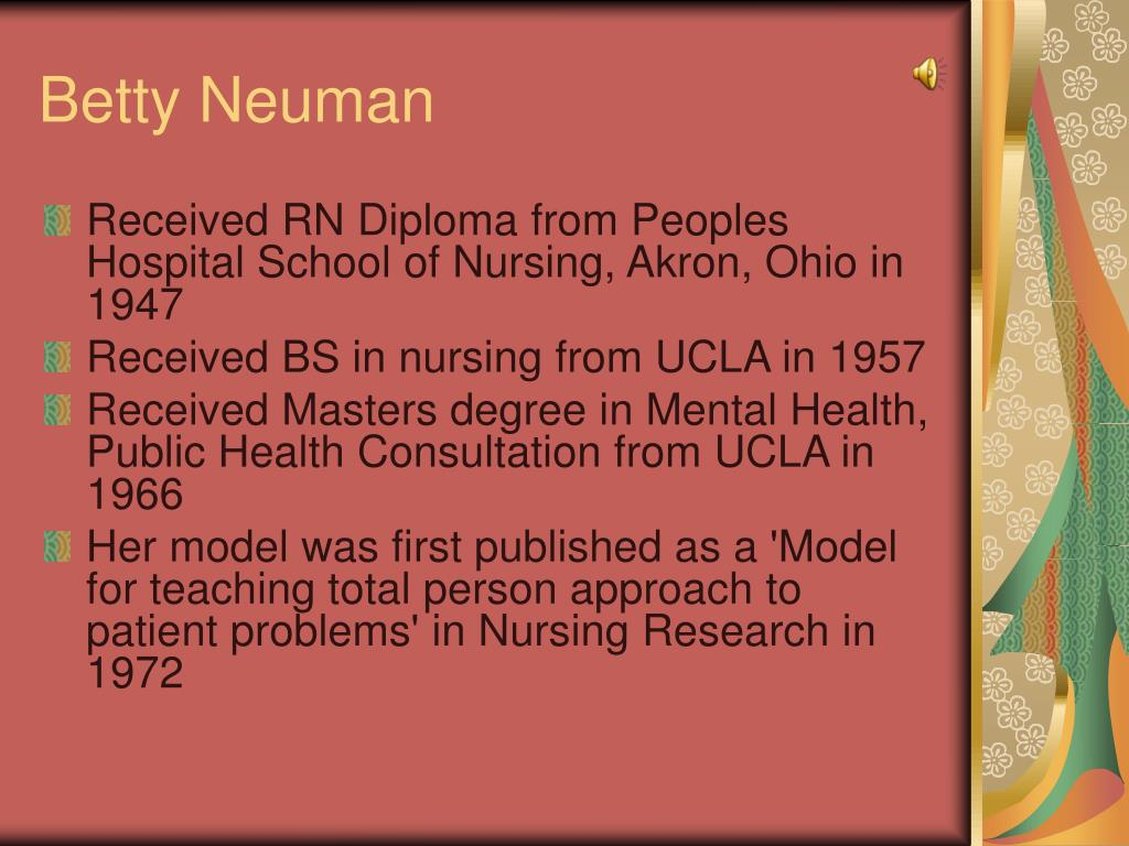 Betty Neuman's Nursing Theory Explained