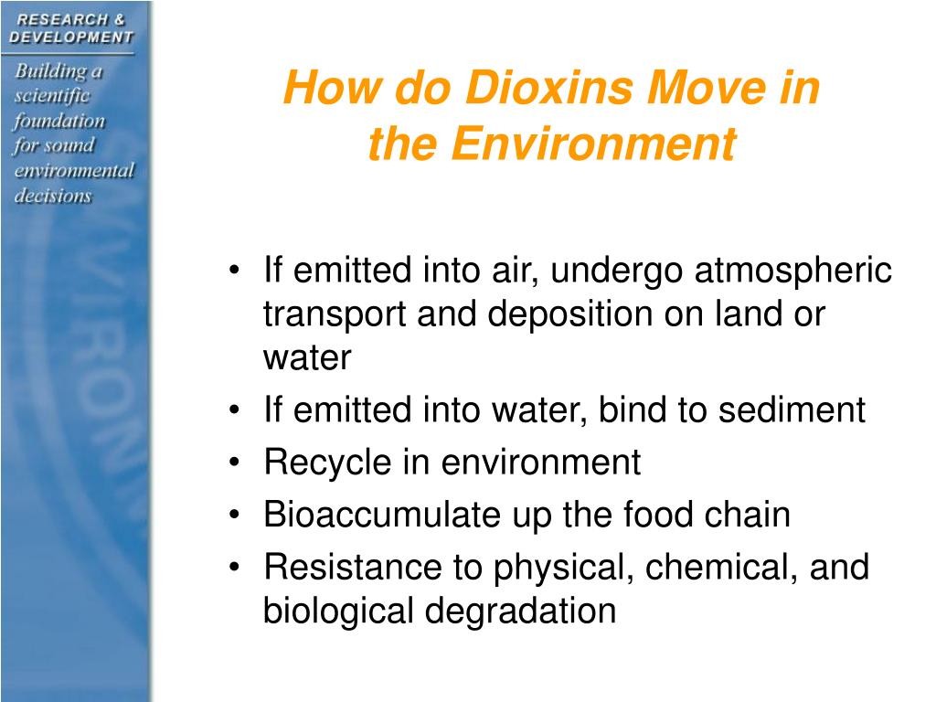 How do Dioxins Move in the Environment