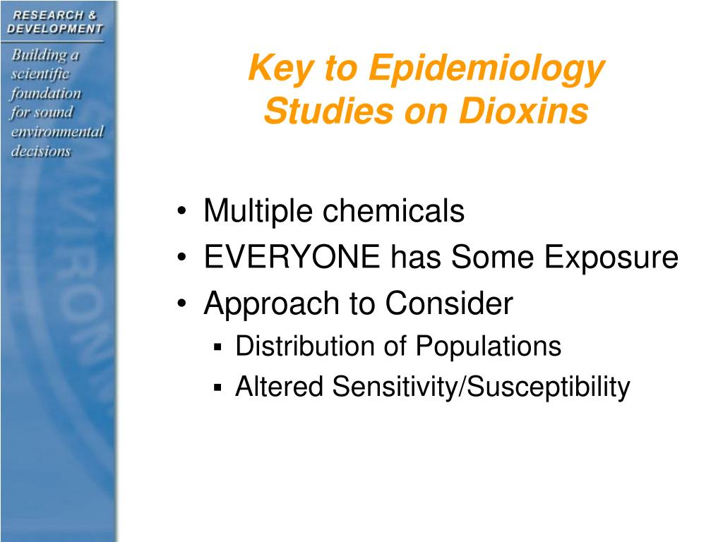 Key to Epidemiology Studies on Dioxins
