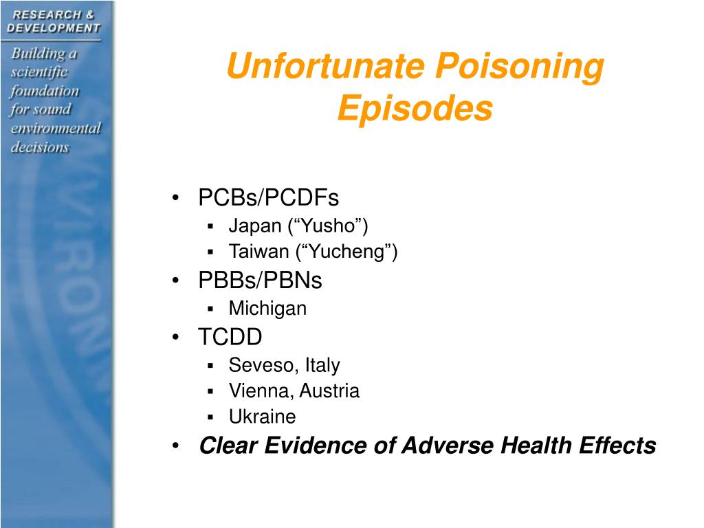 Unfortunate Poisoning Episodes